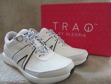 TRAQ by ALEGRIA Qarma White Lace Up Sporty Sneaker Shoes US 8 - 8.5 EUR 38 NWB