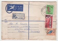 1968 SOUTH AFRICA Registered Cover FAIRVIEW JOHANNESBURG to NEWTON MEARNS SCOT