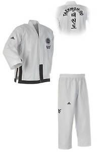 adidas- ITF Black Belt Champion Dobok ADITITF02. Größe: 160-200cm. Anzug. Kimono