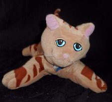 "12"" VINTAGE POUND PUPPIES PURRIES STRIPED STUFFED ANIMAL KITTY CAT PLUSH TONKA"
