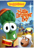 VeggieTales - The Little Drummer Boy (DVD, 2011) Christmas Christian Kids Family