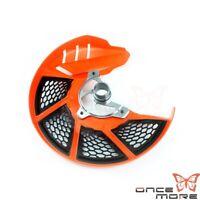 Orange X-Brake Front Brake Disc Cover For 125 150 200 250 300 SX SXF XC EXC