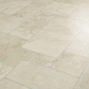 Atlas Babylon 903 Vinyl Flooring Random Stone Effect Kitchen Bathroom Sheet Lino