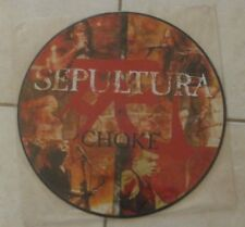 "♪♪ SEPULTURA ""Choke"" Maxi 45 tours 12' (PICTURE DISC press) ♪♪"