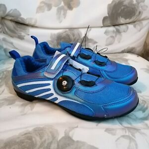 Cycling Shoes with Revolving Lock Anti-skid Breathable Light Weight EU39 UK5.5-6