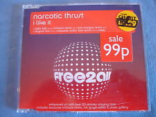 Narcotic Thrust - I like it - CD Single - 0153655F2A