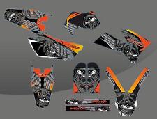 KIT ADESIVI GRAFICHE MONSTA KTM EXC F 250 450 525 2005 2006 2007