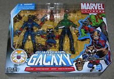 Marvel Universe GUARDIANS OF THE GALAXY 3.75 MIB STARLORD DRAX GROOT ROCKET