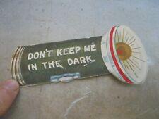 Vintage Eveready Advertising Valentine