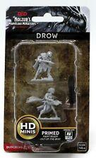 D&D 73189 Drow (Nolzur's Marvelous Miniatures) Dark Elf Warriors Male & Female