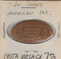 (R) Elongated Coin - The Roses - Mexican Peso