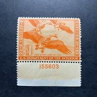 WTDstamps - #RW11 1944 - US Federal Duck Stamp - Mint H