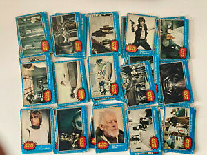 Topps STAR WARS Trading Cards 1977 Series 1 - Blue - 66 Card Set Complete
