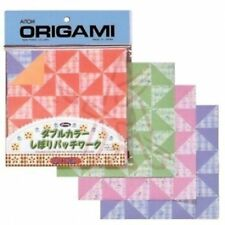 Origami Paper Double-Sided Color Patchwork 5 7/8 Square Inch - 24 Sheets