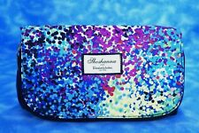 Shoshanna ~ Elizabeth Arden Cosmetic Travel Bag Clutch Purse Multi Color Dot