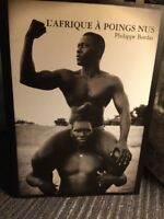 L'Afrique A Poings Nus, Philippe Bordas (Africa With Bare Fists) Hardback