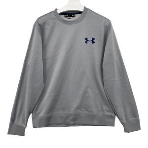 Under Armour Sweatshirt Mens Size Medium Cotton, Storm Cold Gear Loose Fit