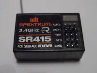 New Spektrum SR415 4-Channel 2.4ghz Receiver (Direct Replacement Spare Part)