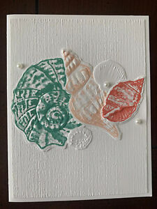 Stampin Up Friends Are Like Seashells Card Kit