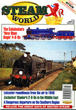 STEAM WORLD 105 MAR 1996 Chester,Middle East 8Fs,GWR Enigma,CR Oban 191 4-6-0s