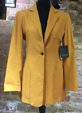 Ladies Mustard Yellow  jacket by ICICLE size 8, fits uk size 10-12 BNWT