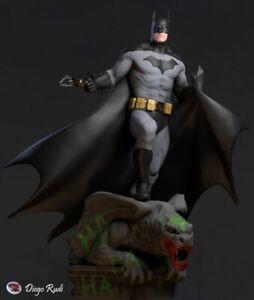 BATMAN Garage Kit 3D Printed kit 12in/30cm High Quality Unassembled/Unpainted