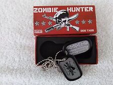 Brand New  Zombie Hunter Official Issue Dog Tags (Nerd Block Exclusive)