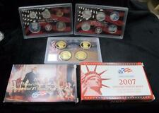 2007 United States Mint Silver Proof Set * 14 Coins * 90% Silver * Beautiful!