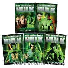 The Incredible Hulk: Complete 1978 Series Seasons 1 2 3 4 5 Box/DVD Set(s) NEW!