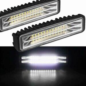 LED Fog Lights Spots Beam Assembly For Car Trucks ATV SUV DRL Spotlight Work Kit
