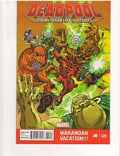 DEADPOOL #20, NM or better, 1st Print, Marvel Comics (Feb. 2014)