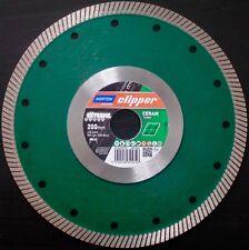 Diamantscheibe NORTON clipper® Ø200x1,4x25,4mm EXTREME CERAM TURBO Trennscheibe