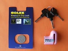 MOTORCYCLE ANTI-THEFT DISC BRAKE LOCK HI SECURITY from SOLEX