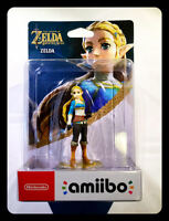 AMIIBO ZELDA - ZELDA THE LEGEND OF ZELDA BREATH OF WILD NINTENDO SWITCH WII U