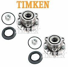 For Buick Chevy Pontiac Set of Front Wheel Bearing Hub Assemblies Timken 513017K