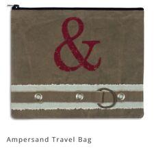Ampersand Travel Bag Back Roads Textiles