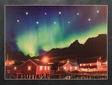 LED Wandbild Nordlicht in Norwegen Leuchtbild 40x30 cm