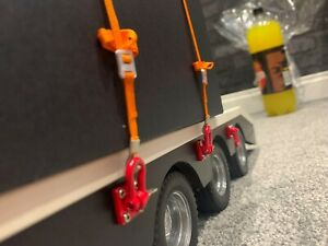 Scale Ratchet Cargo tie down points for RC Truck Lorry, Crawler, Trailer, Tamiya