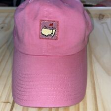 Masters Pink Womens Cap American Needle Adjustable Augusta Golf Tournament Hat