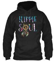 Quality Hippie Soul - Gildan Hoodie Sweatshirt Gildan Hoodie Sweatshirt