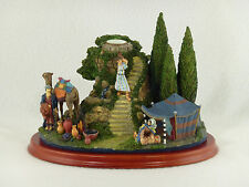 Danbury Mint The Wise Men'S Camp Figurine - Holds Tapper Candle