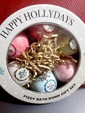 Holiday Bath Bomb Gift Set Ginger Lily Farms 6 Pack