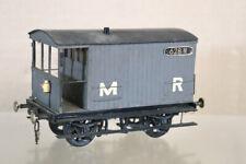 More details for kit built vintage wood 0 gauge mr lms brake van wagon 628 m oa