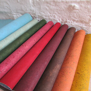 Cork Fabric / Cork Leather  - light & durable - SURFACE SOLID COLOURS