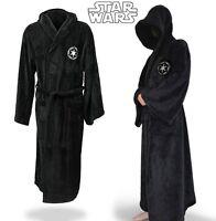 Star Wars Darth Vadar Super Soft coral fleece dressing Gown Bathrobe Mens