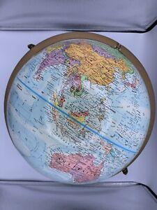 Replogle Globemaster Raised Relief Globe 12 Inch Diameter Globe World Nation