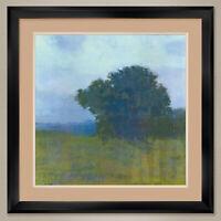"35W""x35H"": MEZZO FORTE by RICHARD MAYHEW - TREE - DOUBLE MATTE, GLASS and FRAME"