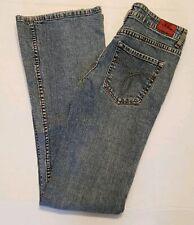 Paris Blues Jeans Size 3 Boot Cut Light Wash Stretch Denim