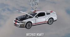 2012 Ford Shelby Cobra GT500 1/64th Custom Christmas Ornament Real Riders Adorno