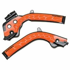 Husqvarna TC TE TX 125 150 250 300 Acerbis X-Grip Frame Guards Black/Orange
